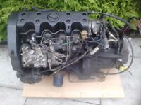 Rover Metro Diesel Engine, 1.5 litre, with its 5 speed gearbox