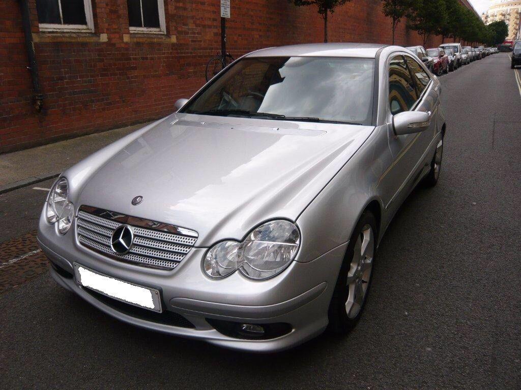 Mercedes benz c class 1 8 c180 kompressor sport ed 2 door for Mercedes benz 2 door coupe