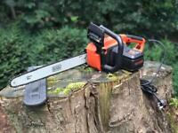 Nearly NEW Black & Decker Electric Chainsaw