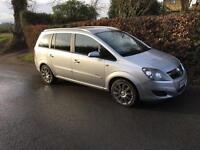 Vauxhall Zafira 1.9 cdti diesel
