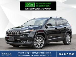 2015 Jeep Cherokee LIMITED | FWD | TRADE-IN |