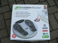 Circulation Booster Foot Massage £30 minimal use = great condition