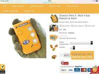 Crowcon Tetra 3 - Multi 4 Gas Detector & Alarm (confined space)