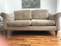 SCS comfy beige 3 seater sofa