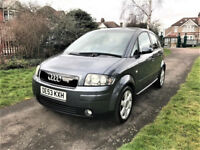 2003 Audi A2 1.6 FSI SE Colour Storm 5dr --- Manual --- Part Exchange Welcome --- Drives Good