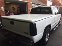 American GMC SIERRA TWIN CAB pickup truck