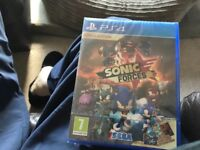 Brand new sealed limited edition PS4 game sonic forces bargain £25