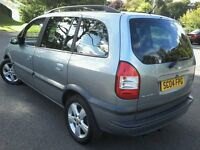 7 Seater Zafira Diesel 44 MPG Moth July 17 Cd player Elec Windows & Mirrors low insurance