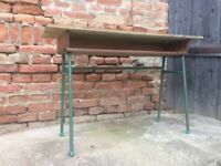 Iconic Retro School Table Statement Furniture Dining, Side Display Desk
