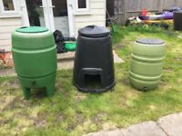 Water Butt and Composter