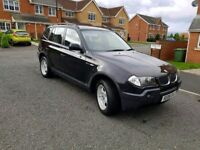 006 bmw x3 2.0 4x4 leather interior perfect driver excellent condition