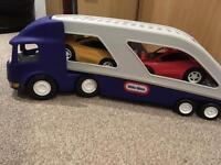 Little Tikes Car Transporter Vtech Toot Toot Cars