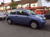 Lovely 2005 Nissan Micra 1.2, 75k Miles Only, 1 Yrs MOT, CD/MP3 Player, Excellent Condition