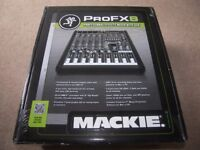 Mackie PRO FX8 Professional Mixer With 32-bit RMFX Effects Processor and USB.