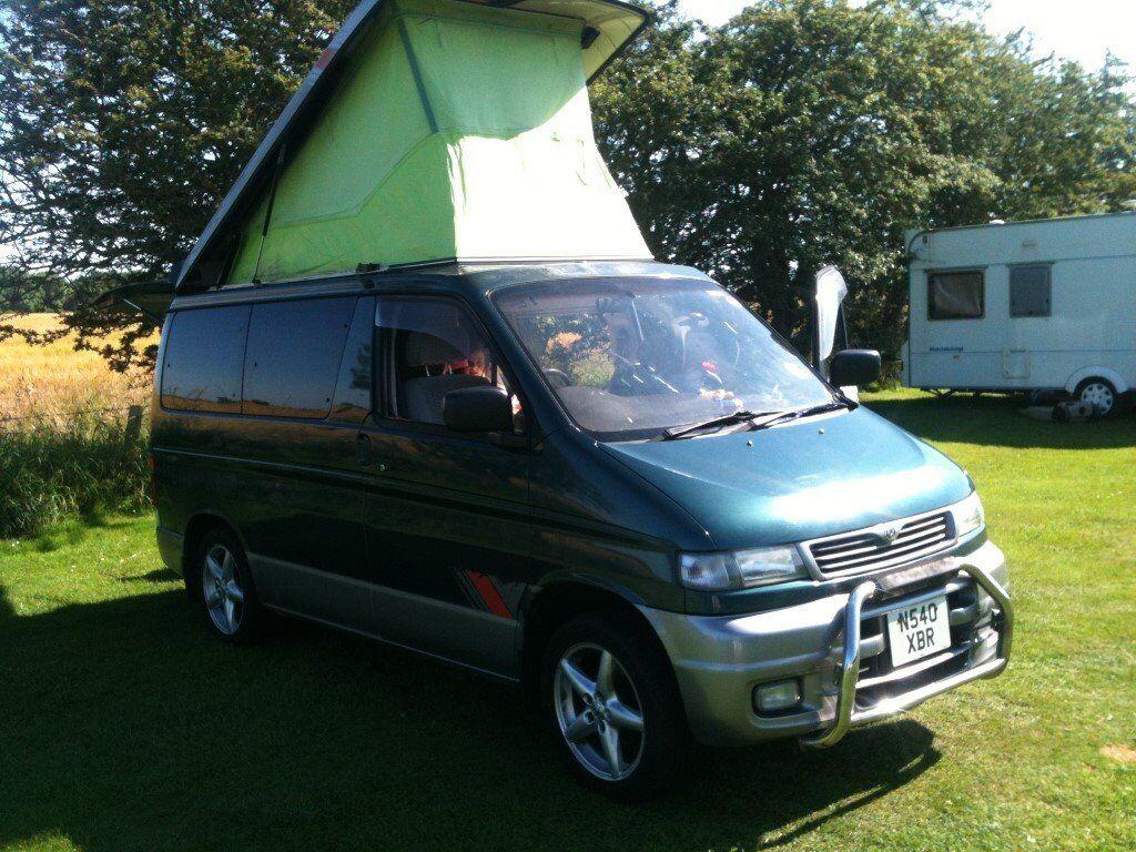 mazda bongo mpv camper van 4 berth 8 seats automatic. Black Bedroom Furniture Sets. Home Design Ideas