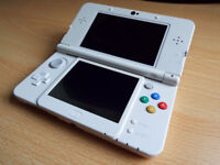 New 3DS with charger, barely used