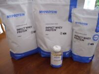 Myprotein Impact Whey Protein BUNDLE (Chocolate Smooth/Cinnamon Danish)