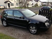 2003 VW GOLF 1.9 TDI PD 100BHP 4 NEW TYRES / HISTORY /2 KEYS EXCELLENT CONDITION !