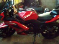 W k 125 rr race bike