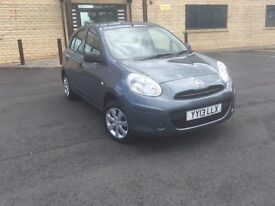Nissan Micra 1.2 12v Visia 5dr p/x to clear **LOW MILEAGE *NO OFFERS*BARGIN**