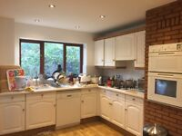Kitchen units & oven & griller & dish washer & Neff hob & extractor fan