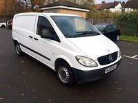 2008 Mercedes Vito 109 Cdi 2.2 Diesel,3 Seater,Compact TAX and MOT (as Transit transporter vivaro)
