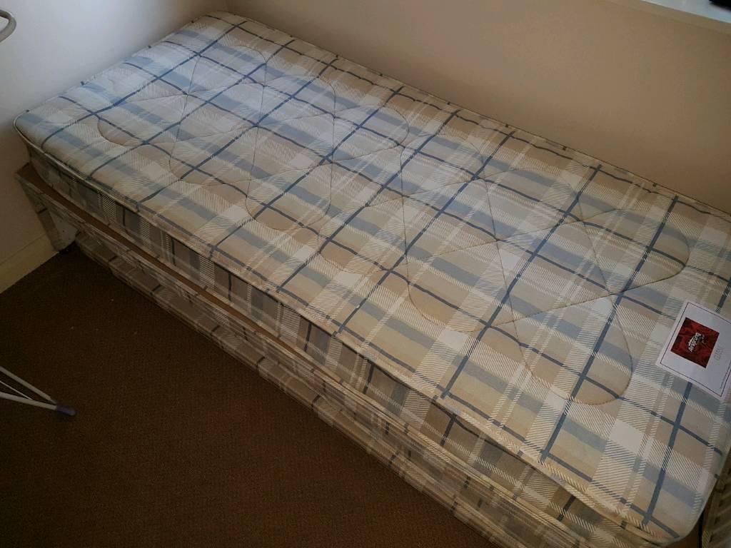 Divan trundle bed