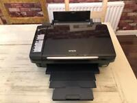Epson stylus printer and scanner