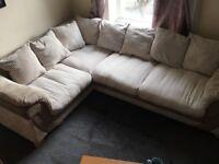 Right Hand Corner Sofa/ Great Condition