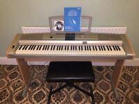 Yamaha Portable Grand DGX-505 Electric Keyboard with Stool