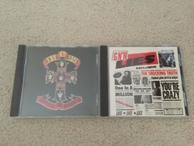 Guns N' Roses CD Music Albums