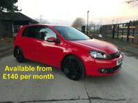 Volkswagen Golf GT (Leon Jetta Passat A4 320d) £140 per month