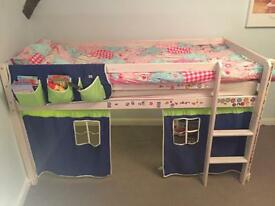 Single Cabin bed with mattress