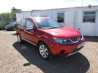 2008 MITSUBISHI OUTLANDER DIAMOND 4×4 TOP SPEC 7 SEATS