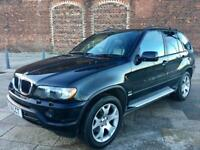 2001 / IMMACULATE BMW X5 / AUTO / FULL LEATHER / ELECTRIC WINDOWS / STEREO / NOVEMBER MOT .