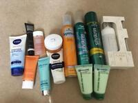 Bulk load of hair products and beauty products