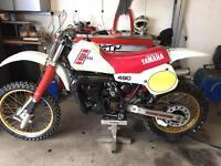 Yamaha yz490 yz 490 1983 motocross Honda cr 500