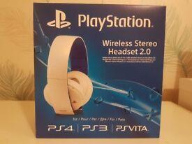 Sony Playstation Wireless Headset 2.0