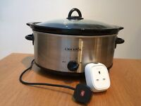 Crockpot Slow Cooker with Wemo Insight Switch