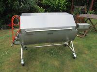 Spit Roast Machine / Hog Roast Oven - Tasty Trotter - Mini - Square Lid, Used Once
