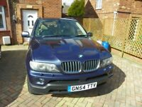 BMW X5 Auto 3.0D 2005 Recent service,Mot March 2019.Good condition,