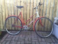 CLASSIC RALEIGH, LADIES BIKE FOR SALE. EXCELLENT VALUE.