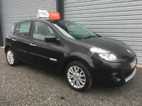 2010 RENAULT CLIO 1.2 DYNAMIQUE IMUSIC 39K FULL YEARS MOT 6 MONTH WARRANTY DEBIT & CREDIT CARDS