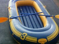 Dinghy LI-LO 3 man inflatable boat