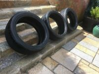 tyres 19 inch & 17 inch BELFAST NEWCASTLE can meet deliver michelin goodyear dunlop vgc 5 - 7 mm
