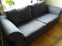 3 seater & 2 seater sofas in good condition, buy as a pair or separately