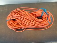 50 plus metres of orange Mower or Hedge Trimmer cable