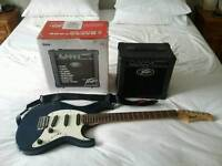 Croft G200 Electric Guitar and Pavey Amplifier