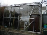 LEAN TO GREENHOUSE 8 X 4 FEET