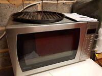 Panasonic Slimline Combination Microwave Oven, Stainless Steel